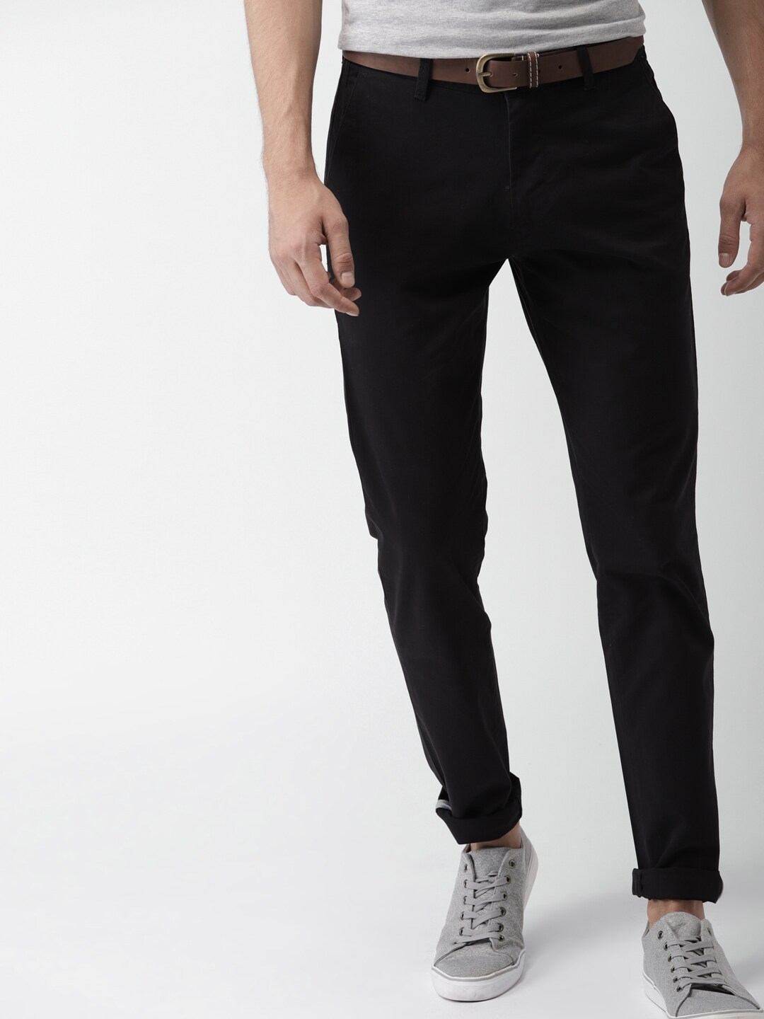 Black Chinos - Buy Black Chinos online in India 5d2fabd58