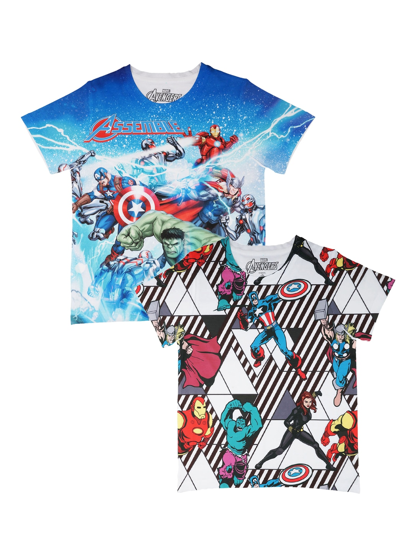 9732b487a98 Marvel Tshirt Boys - Buy Marvel Tshirt Boys online in India