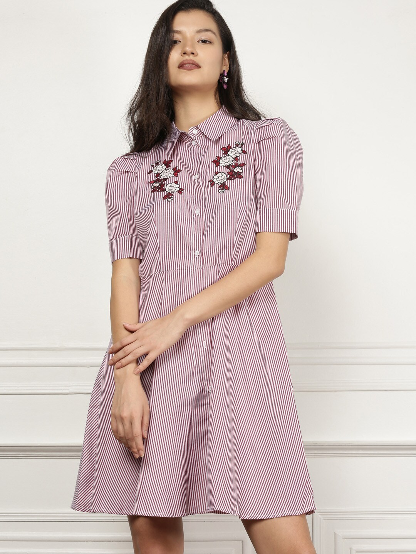 075f2340008 Feminina Embroidered Dresses - Buy Feminina Embroidered Dresses online in  India
