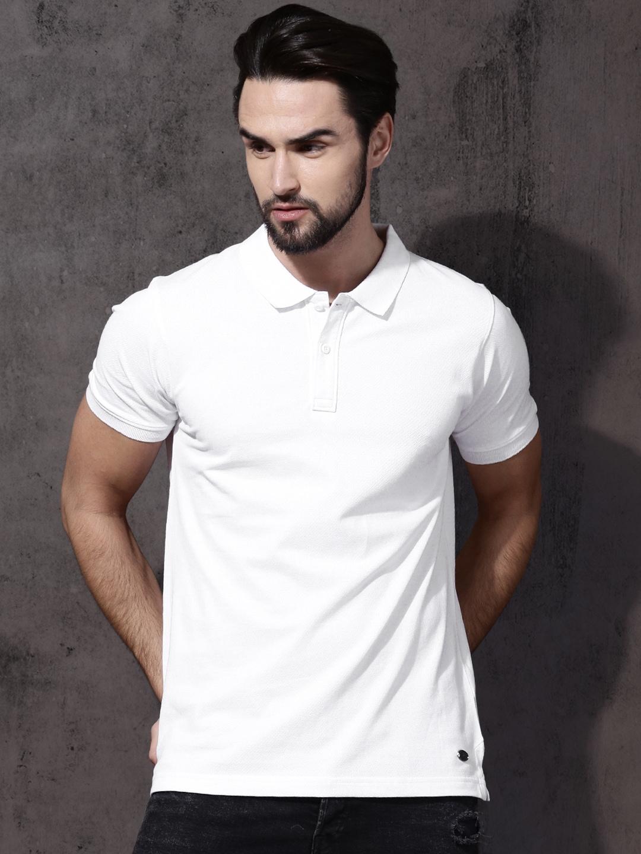 cec1e2e7442 White Tshirt Collar - Buy White Tshirt Collar online in India