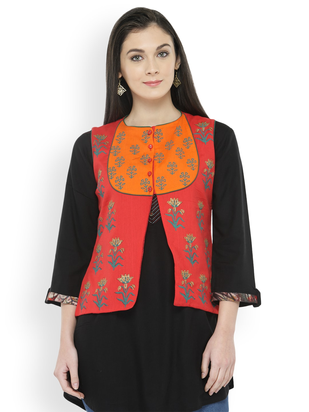 Women Ethnic Wear Jackets Buy Women Ethnic Wear Jackets Online In