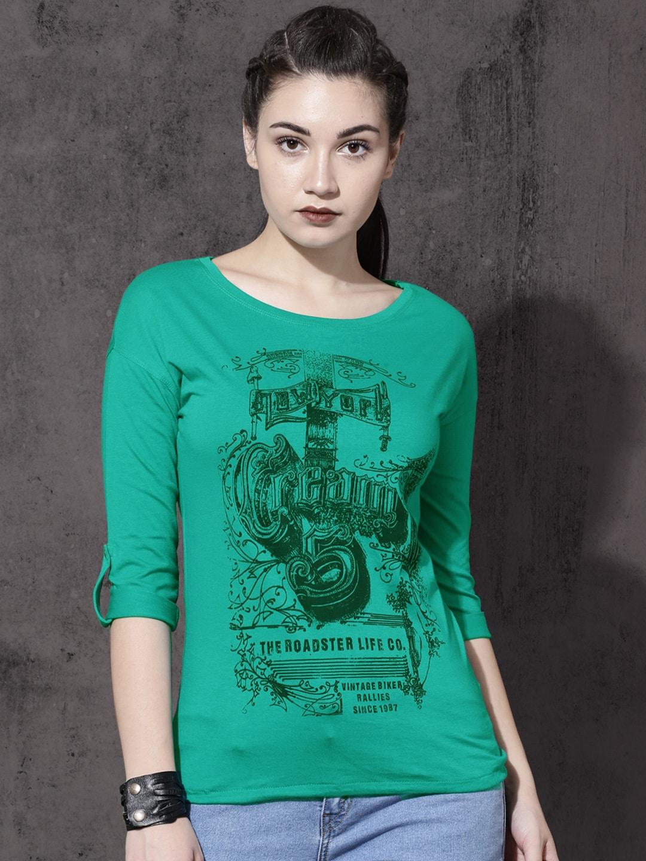 bd8a834d60550 Women Green Tops - Buy Women Green Tops online in India