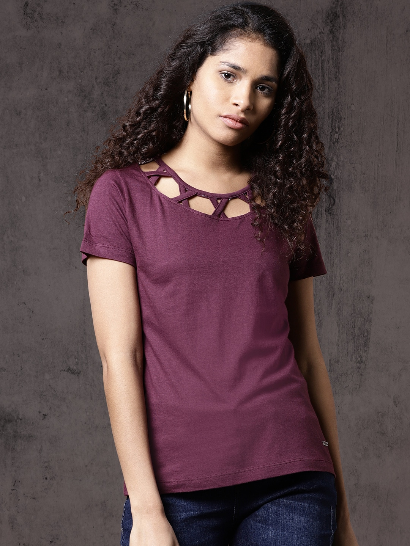 deaf7f051fada Cut Sleeve Tops - Buy Cut Sleeve Tops online in India
