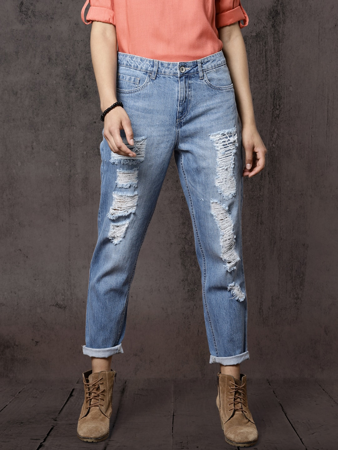 4bd3c01258c Ripped Jeans - Shop for Ripped Jeans Online in India