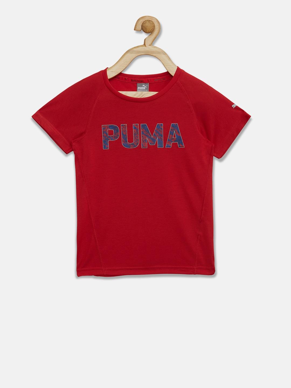 5827891c39e Puma Tshirt Red Tshirts Polo - Buy Puma Tshirt Red Tshirts Polo online in  India