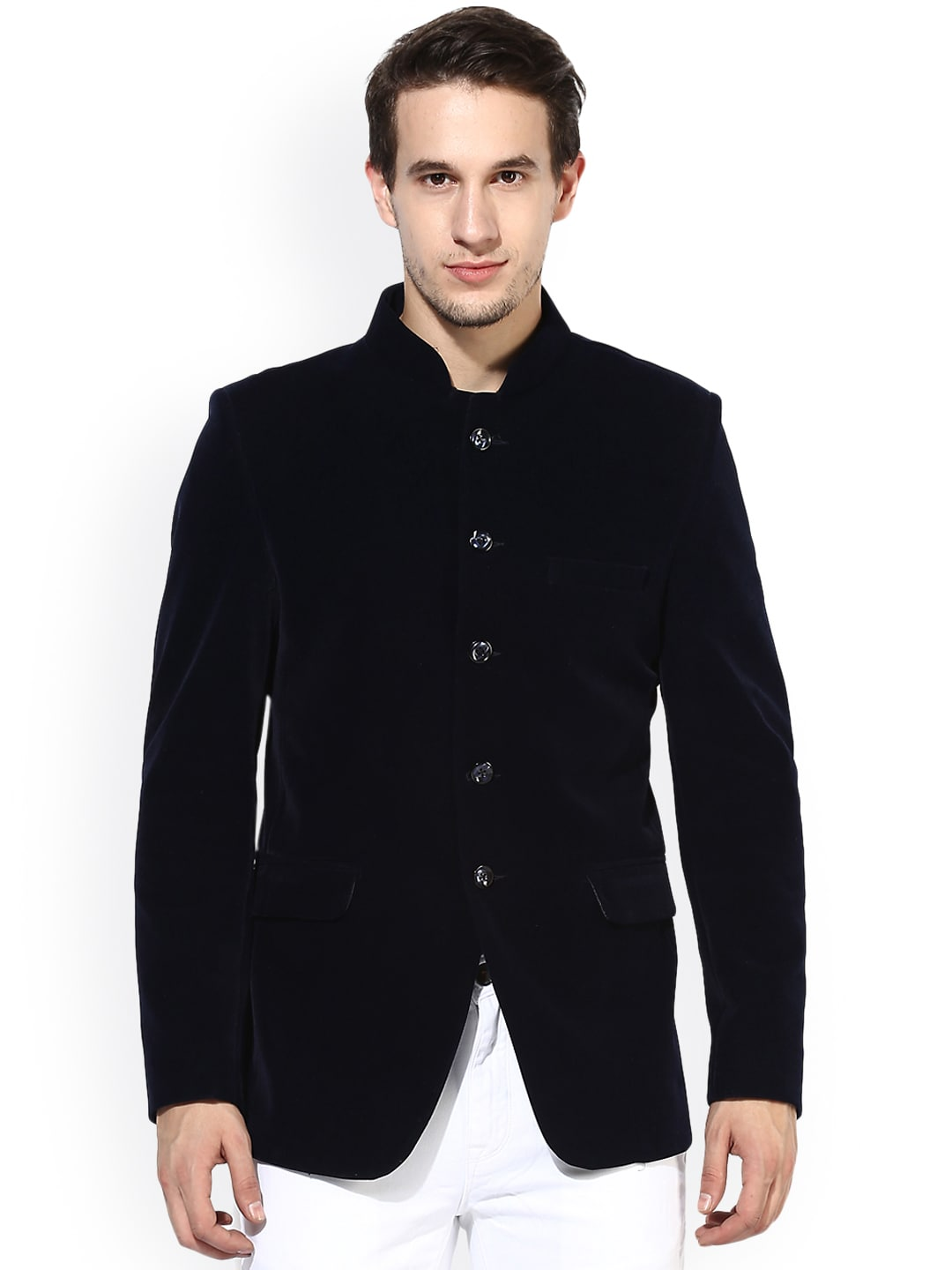 mens blue blazer to wear with jeans
