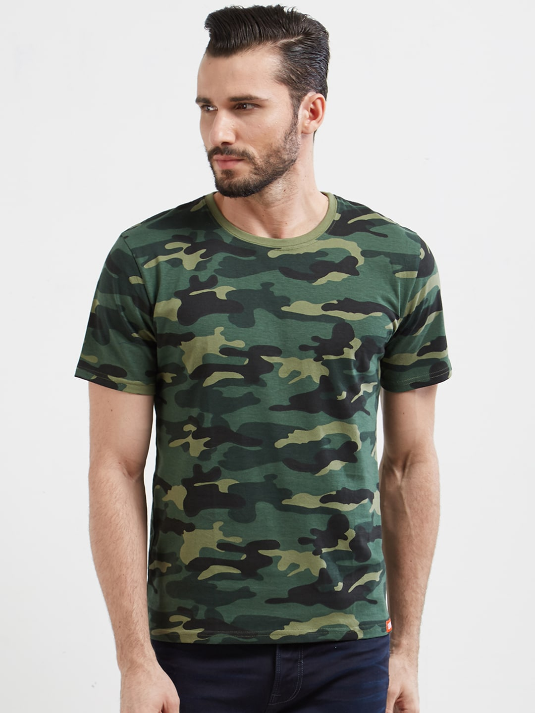5962a950d9d1 Men Camouflage Tshirts - Buy Men Camouflage Tshirts online in India