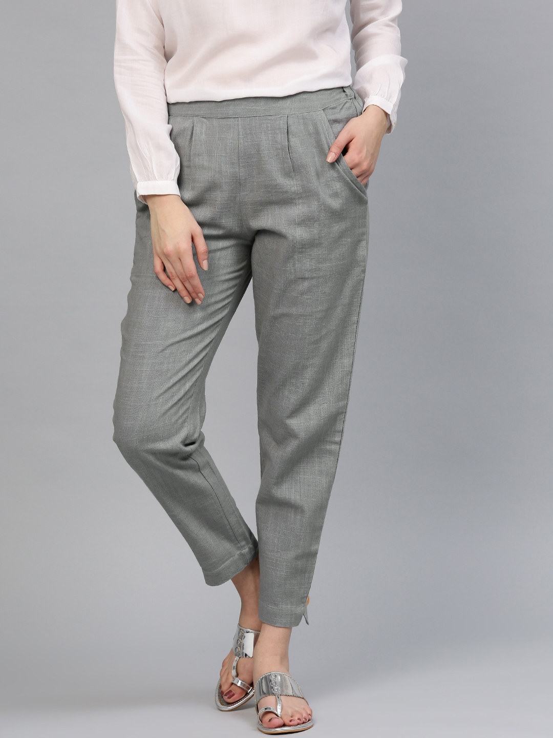 Women s Trousers - Shop Online for Ladies Pants   Trousers in India ... 70c3ab53f51f