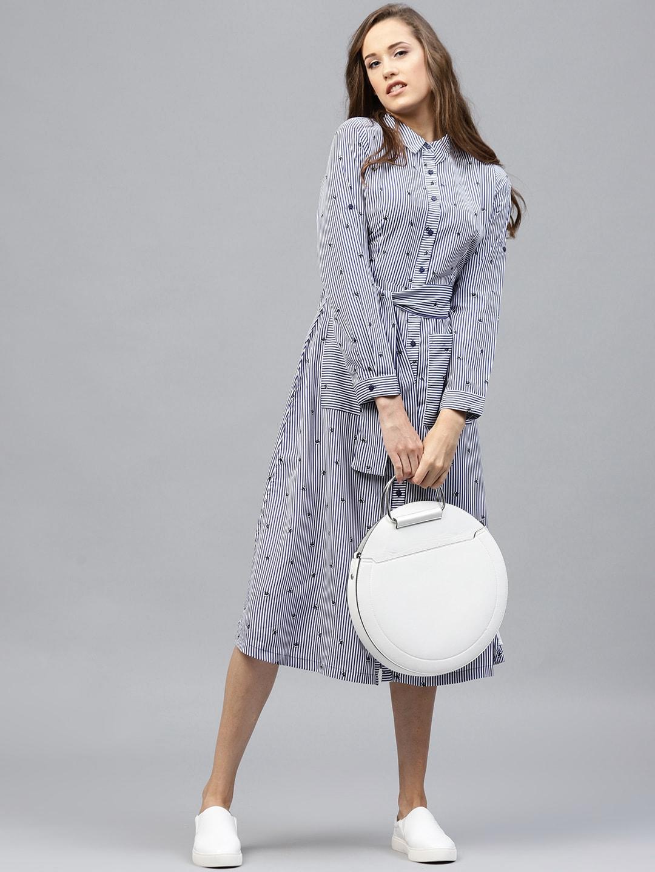 f49df31254 Women Striped Dresses - Buy Women Striped Dresses online in India