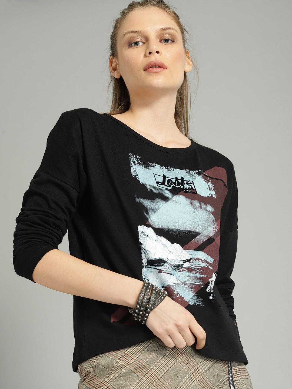 0fdb48b935 Ladies Tops - Buy Tops   T-shirts for Women Online