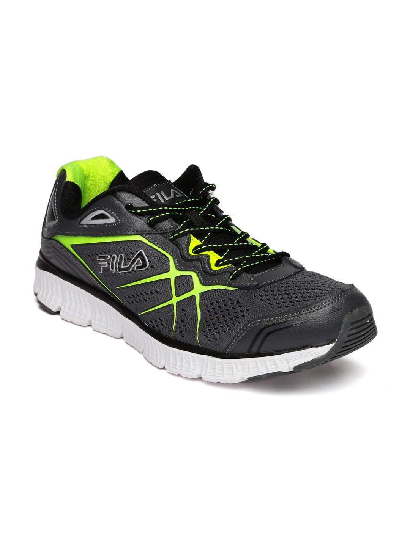 68968fda5fb FILA Men Charcoal Grey MEMORY PANORAMA Running Shoes