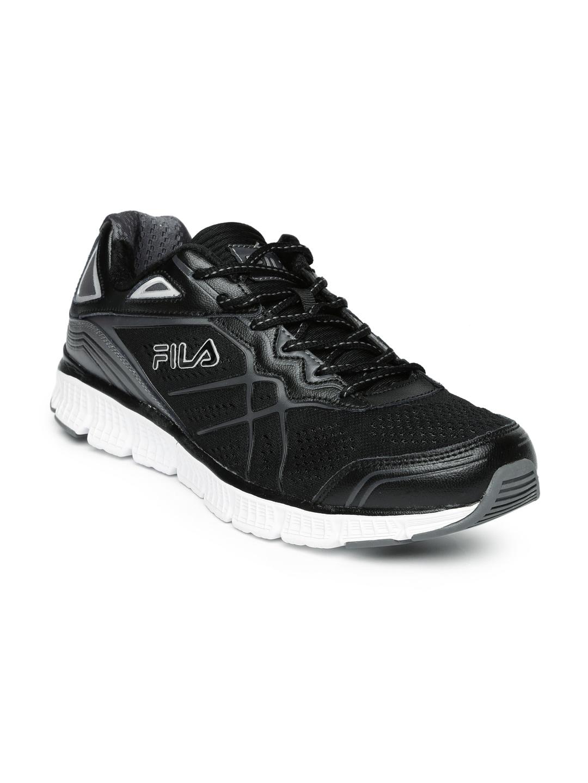 f3240dfddcb Fila Black Sports Shoes - Buy Fila Black Sports Shoes Online in India