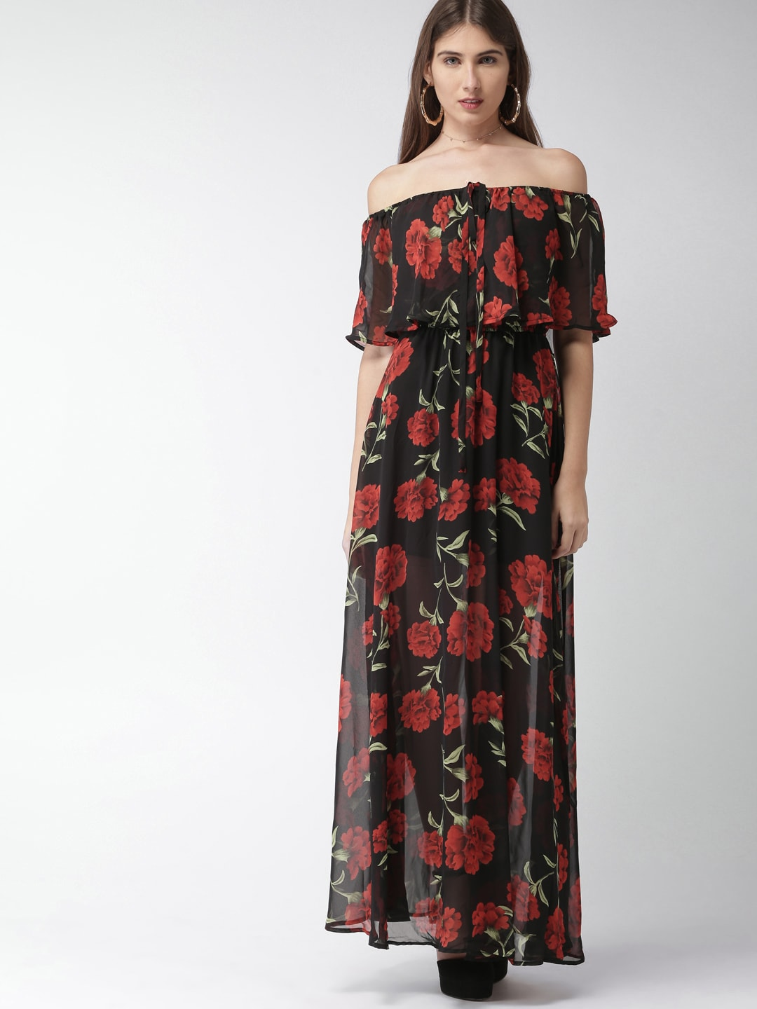a07fbf3271c2 Plus Size Floral Maxi Dress Forever 21