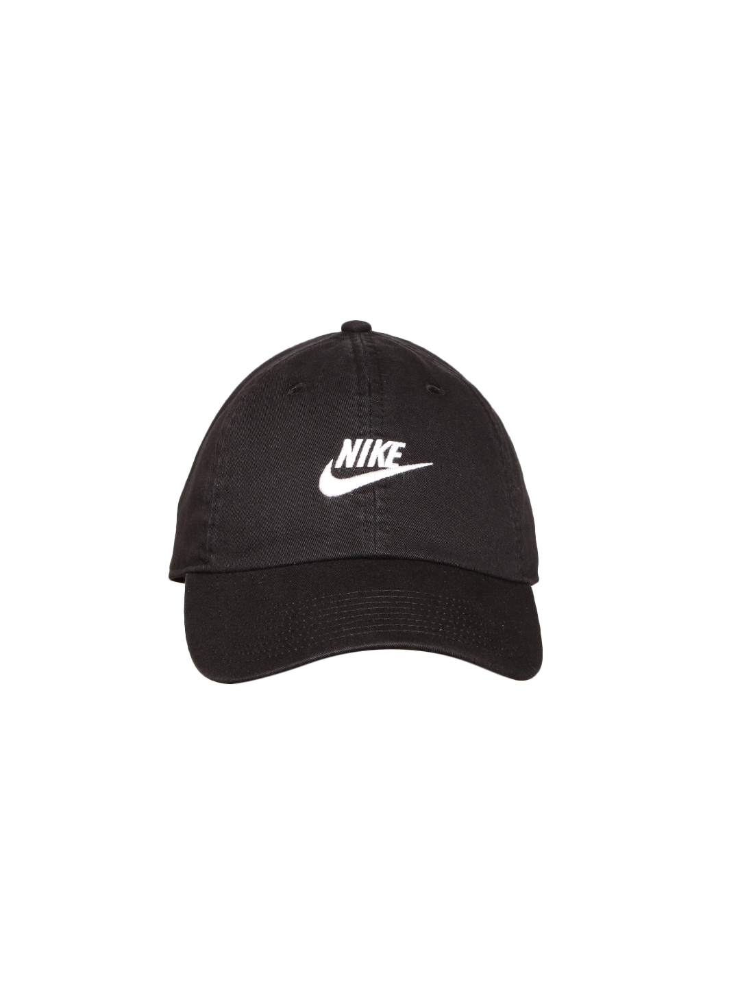 177e825af Nike Unisex Black NSW H86 Futura Washed Solid Cap