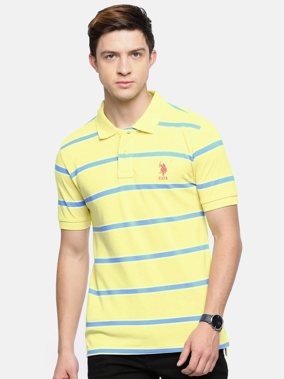 3af845d7803 Yellow Polo Tshirts - Buy Yellow Polo Tshirts online in India