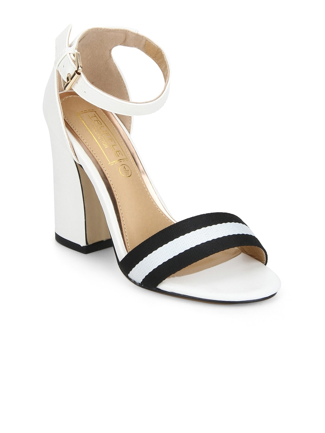 2774ac2ef4d Truffle Collection Women White Solid Sandals