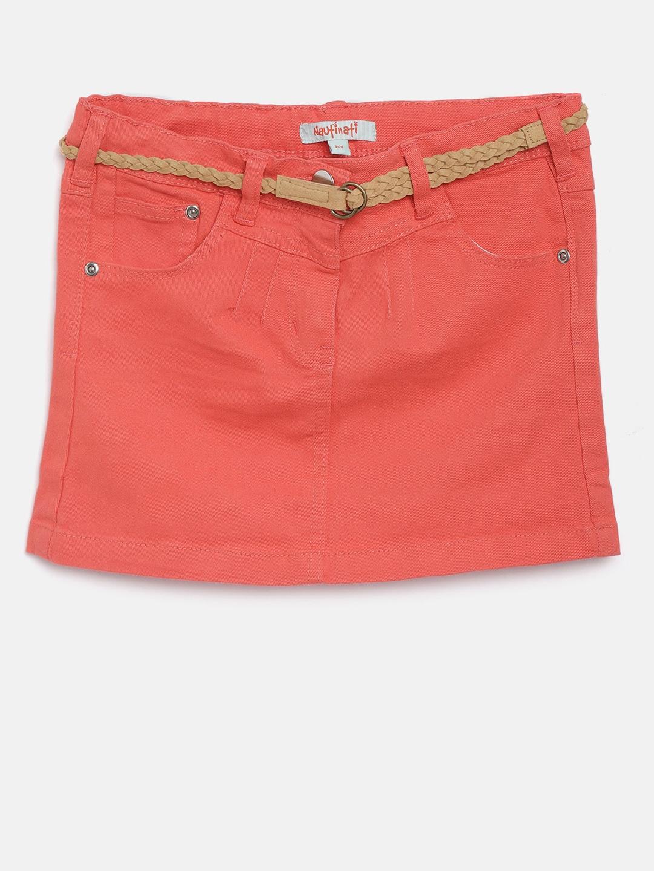 Girls Skirts Buy Girl Skirt Online In India Myntra