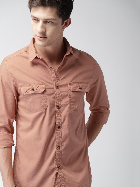 0a85881db81 Linen Mandarin Collar Shirts - Buy Linen Mandarin Collar Shirts online in  India