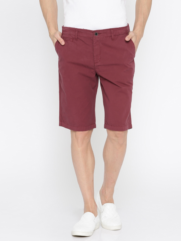 25259707e743 Burgundy Shorts - Buy Burgundy Shorts online in India