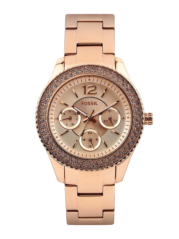 Fossil Store Buy Watches Accessories Online Myntra Perfect Boyfriend Es4093 Blue Navy