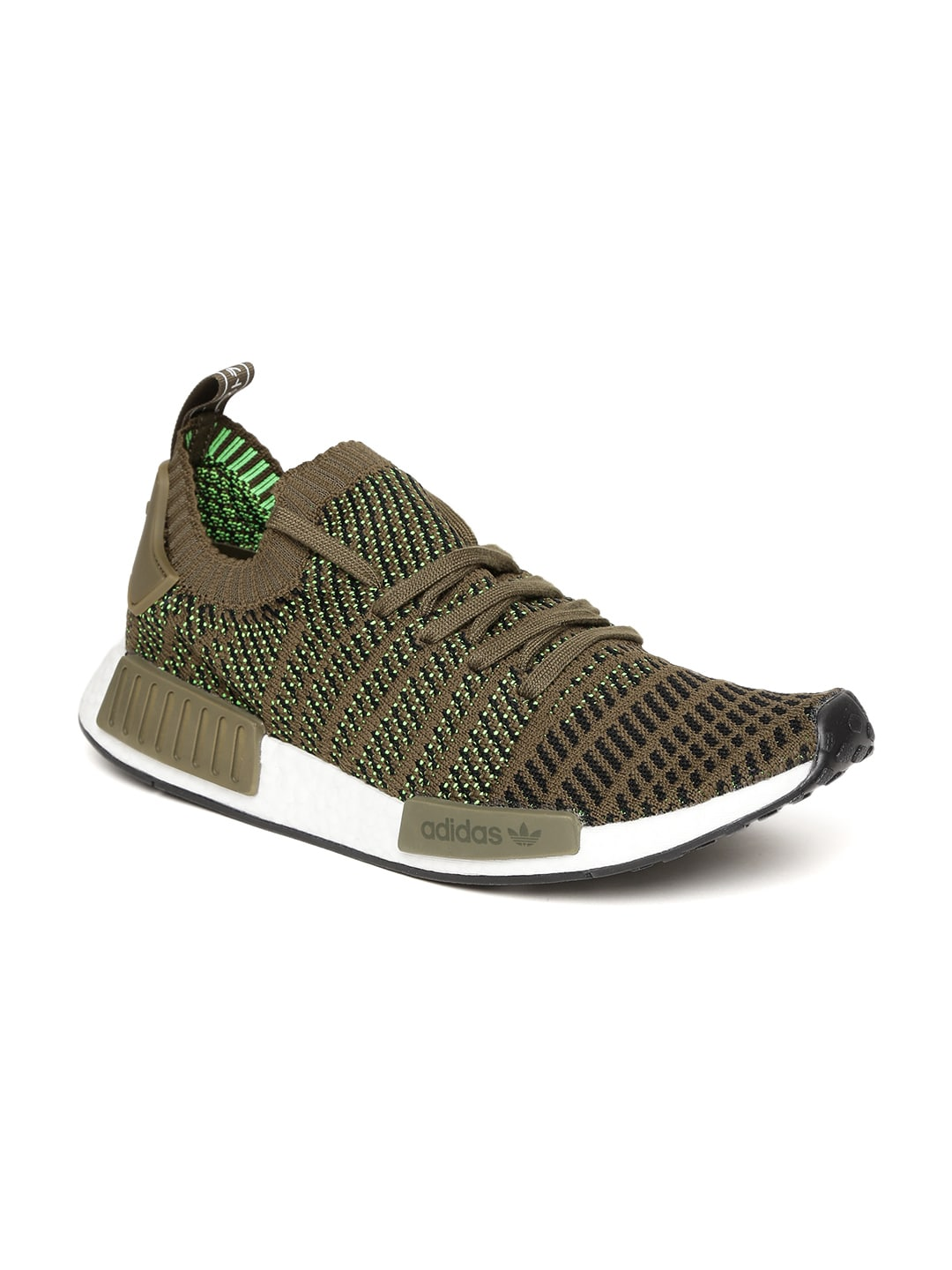 9389cd35207632 Adidas Men Olive Casual Shoes - Buy Adidas Men Olive Casual Shoes online in  India