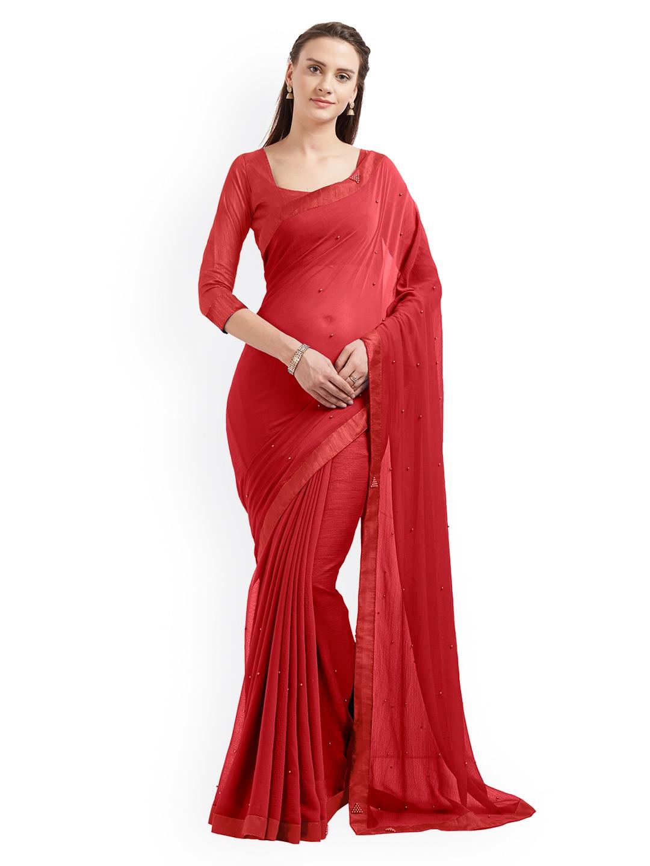 b5b444d080257b Chiffon Saree - Buy Elegant Chiffon Sarees online - Myntra
