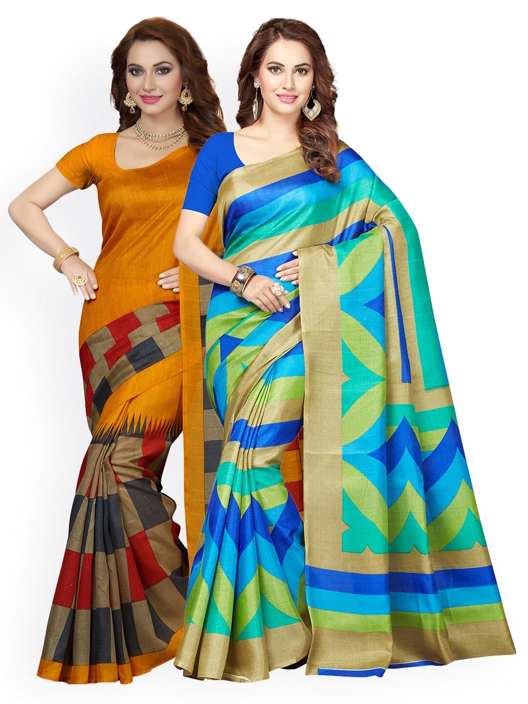 612ddafc4258e Bhagalpuri Saree - Shop Bhagalpuri Sarees Online - Myntra