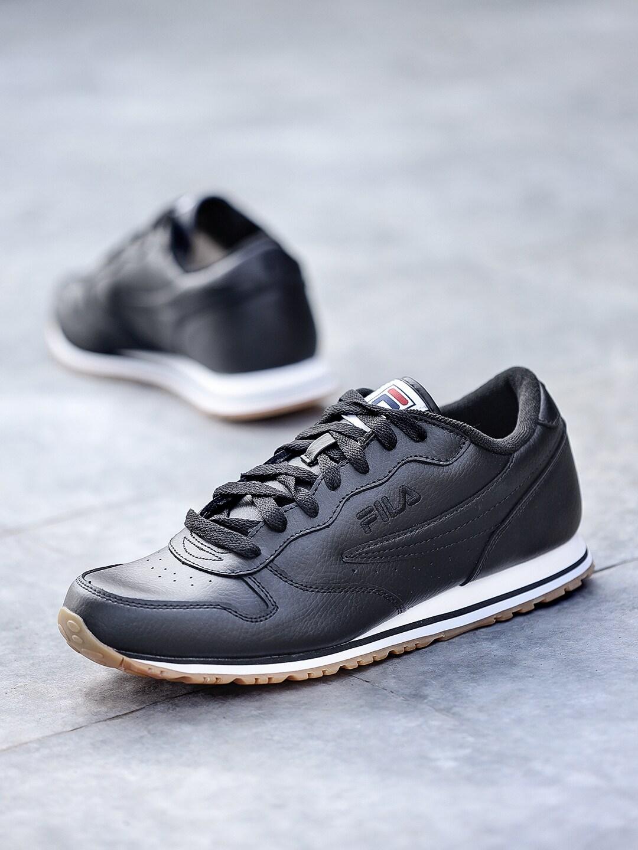 1ac007531309 Fila Men Black Shoe Sports Shoes - Buy Fila Men Black Shoe Sports Shoes  online in India