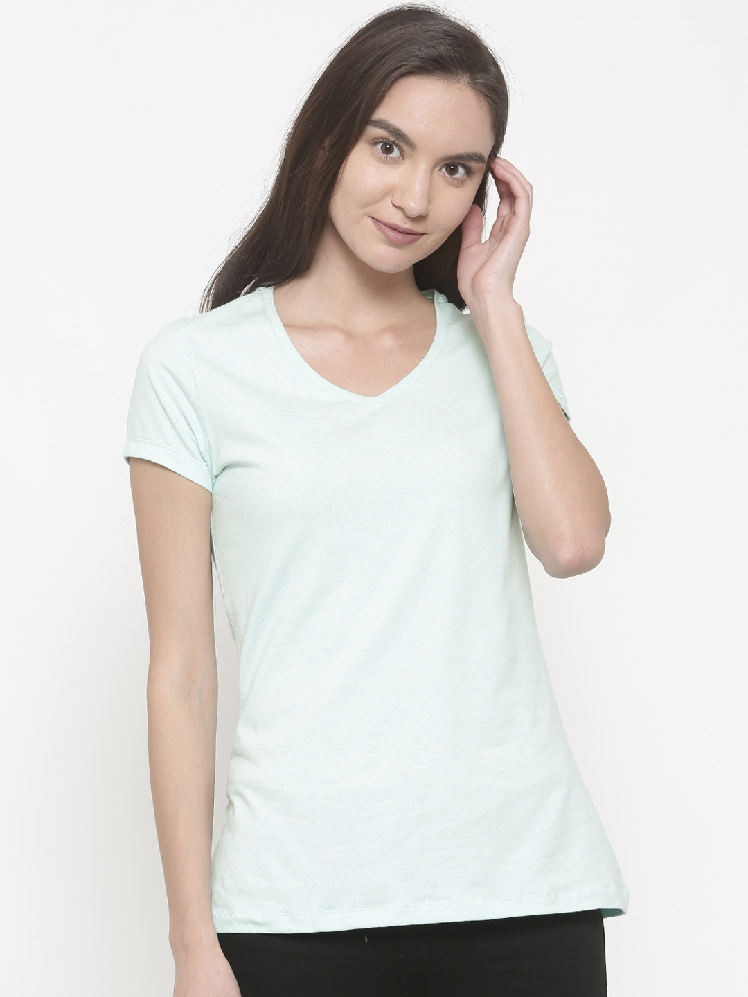 5637ea7384196 Jockey Cotton Tshirts For Women - Buy Jockey Cotton Tshirts For Women  online in India