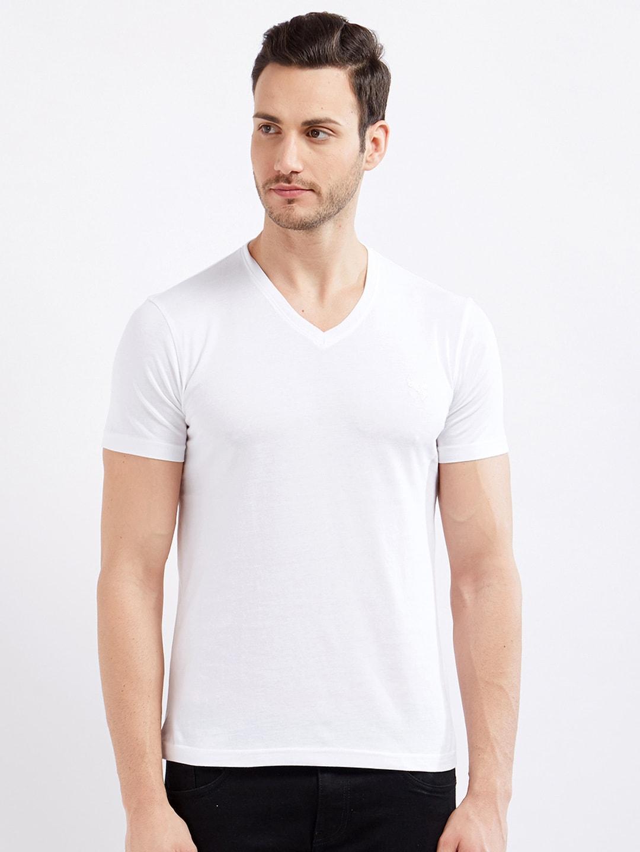 ce9e0a04cc2 V Neck T-shirt - Buy V Neck T-shirts Online in India