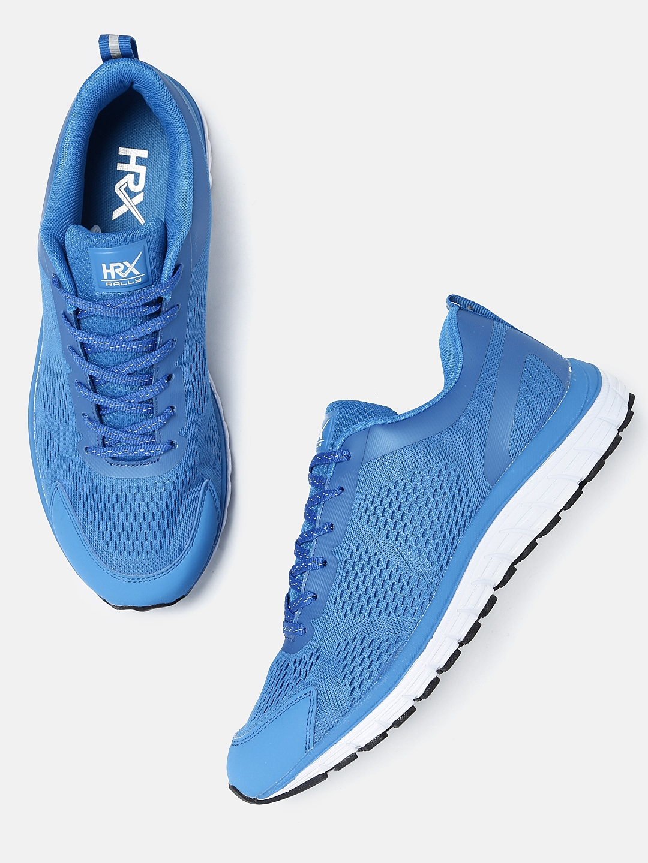 buy popular 0167c 3f1f1 HRX by Hrithik Roshan Men Blue Street Run Running Shoes
