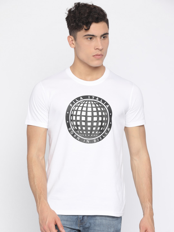 80a46607c96 Fila T-shirt - Buy Fila T-shirts for Men   Women Online in India