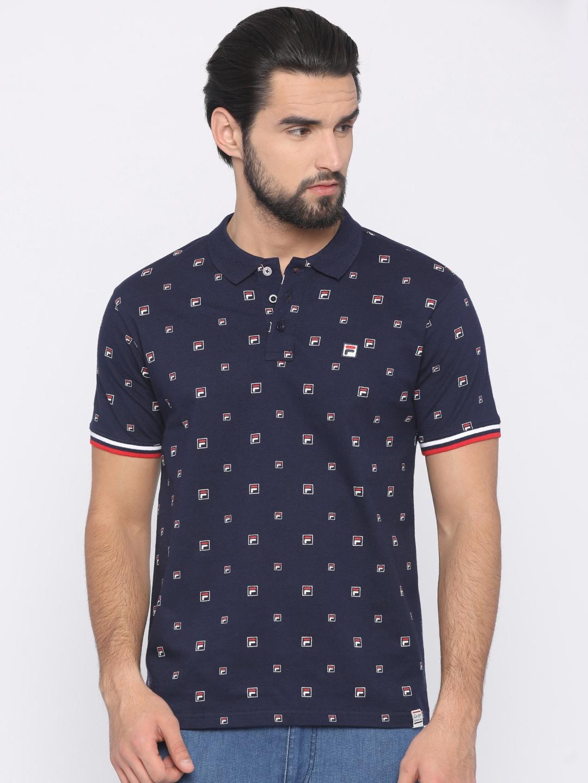 ba3ffa5ee3 Fila T-shirt - Buy Fila T-shirts for Men   Women Online in India