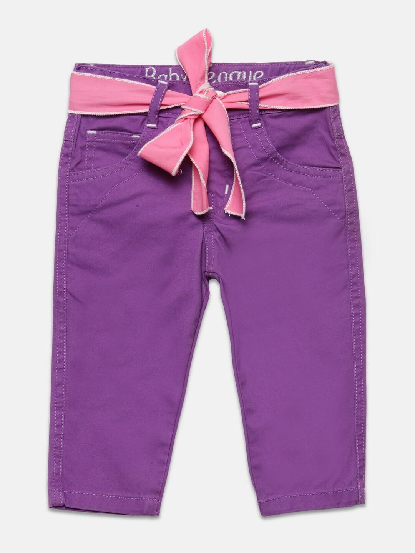 79653d0c7bef Purple Trousers - Buy Purple Trousers online in India