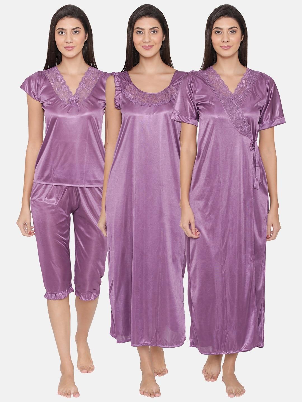 Women Purple Briefs Nightdresses - Buy Women Purple Briefs Nightdresses  online in India 87ca37831