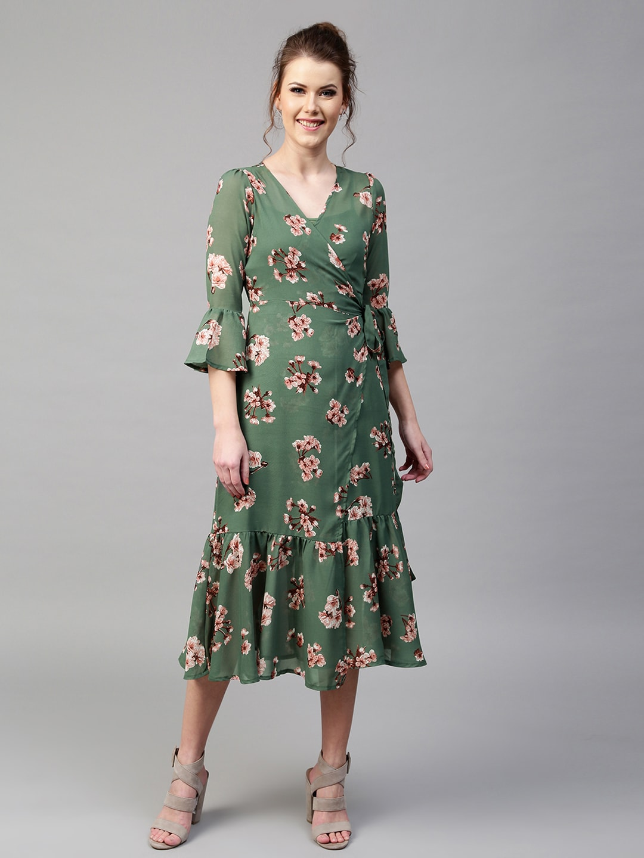 0e7a8b98d17c9 Wrap Dresses - Buy Wrap Dresses online in India
