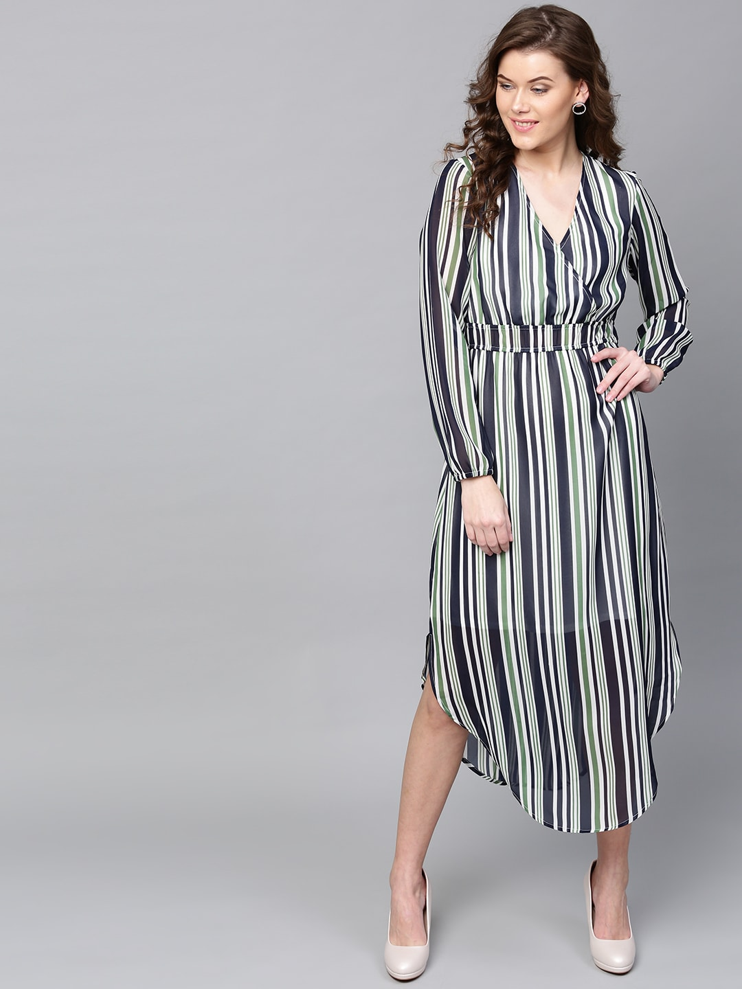 Striped Dress - Buy Striped Dress online in India ed8ff9201