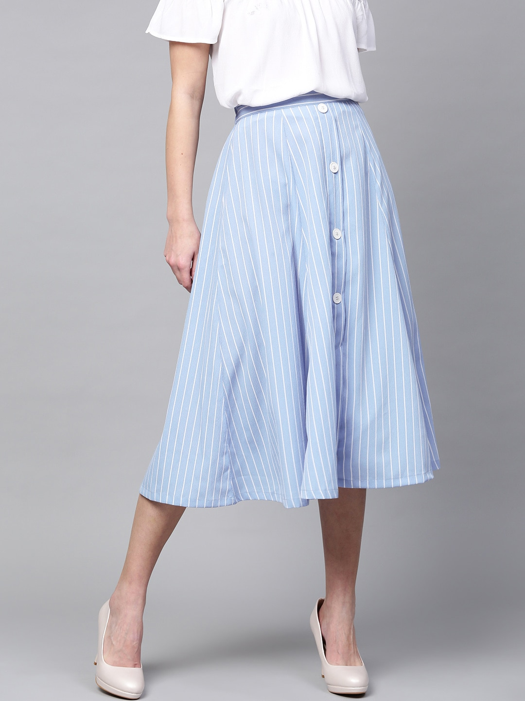 cee918c0b9 Women Pleated Skirts - Buy Women Pleated Skirts online in India