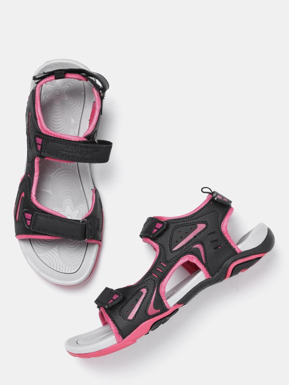 bdc8e3bd6a8f1 Roadster Women Black Sports Sandals