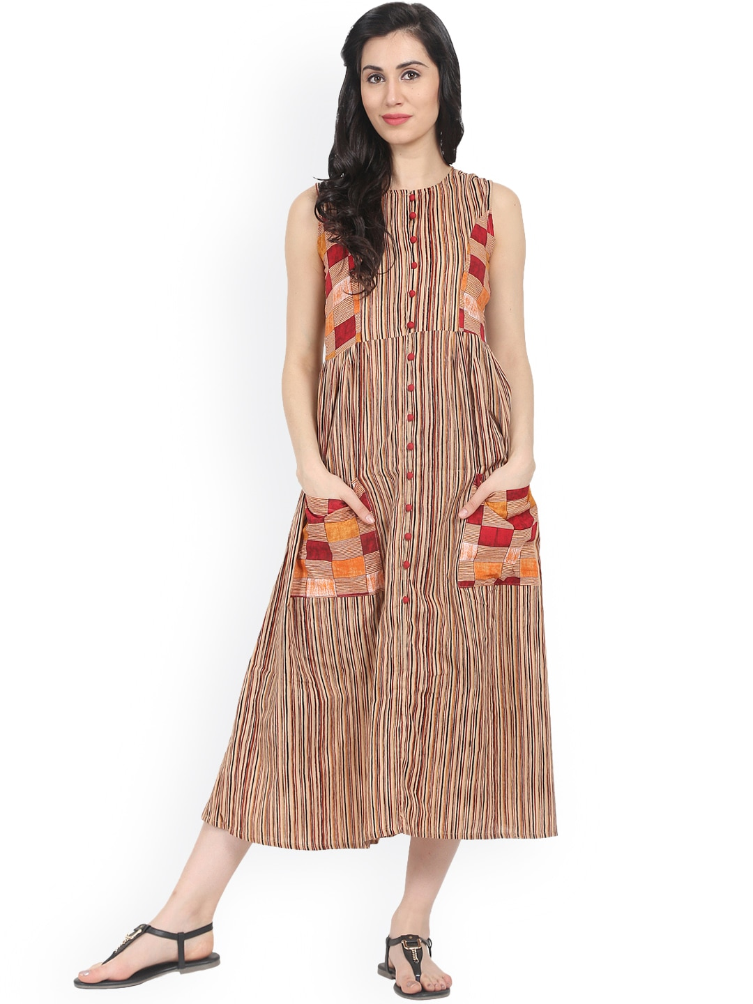 Striped Dresses - Buy Striped Dresses online in India 9bee0132f