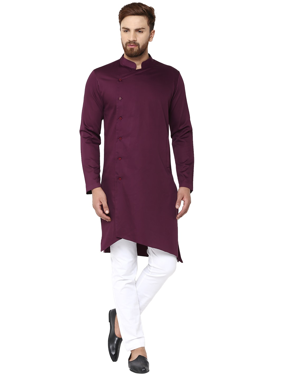 317b144ec11 Asymmetric Men Kurtas - Buy Asymmetric Men Kurtas online in India