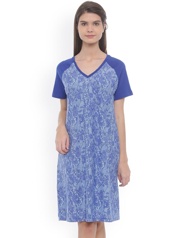 Mystere Paris Cotton Nightdresses - Buy Mystere Paris Cotton Nightdresses  online in India 936c5ae6d