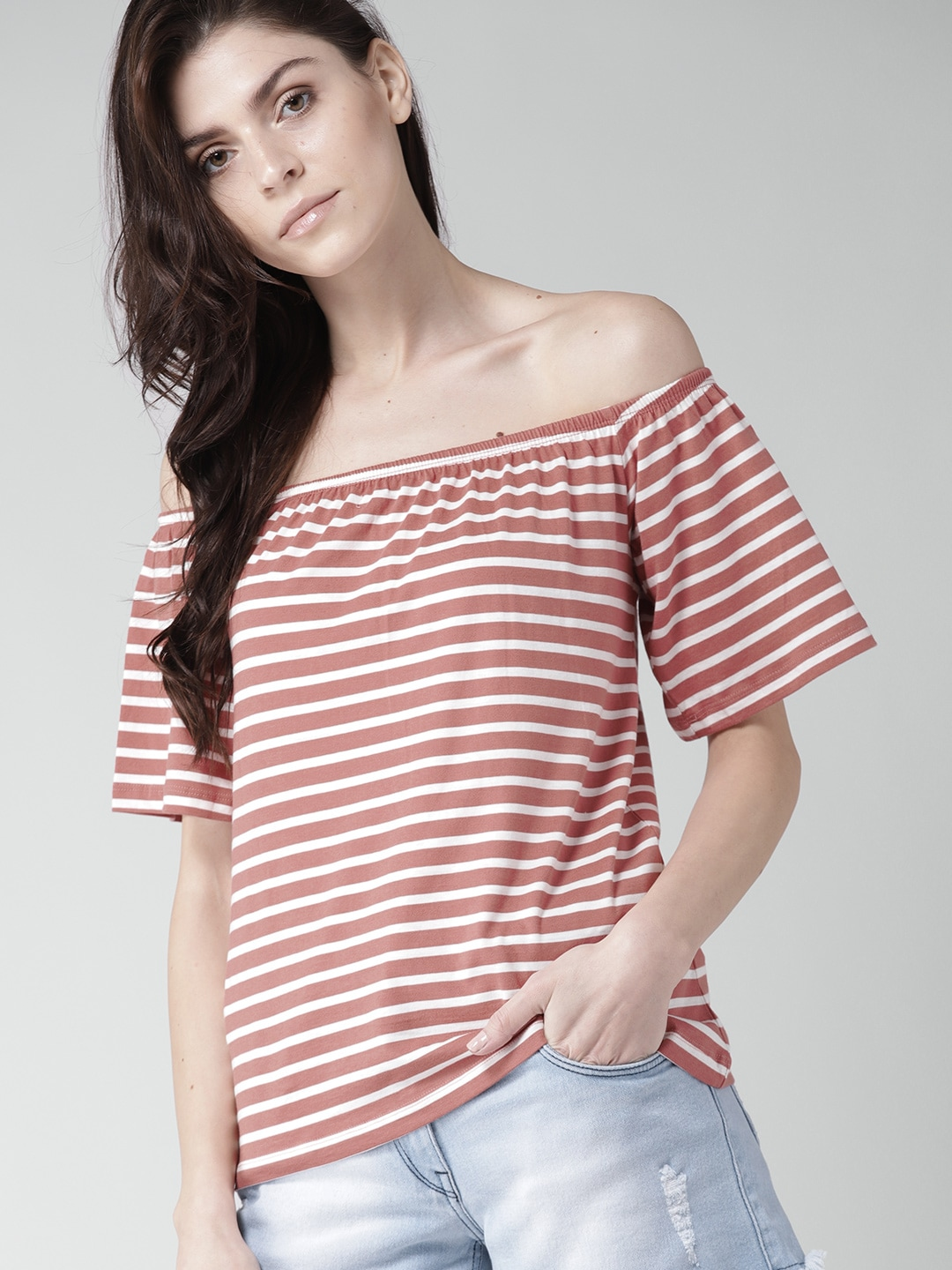 7573598e441f28 Mast   Harbour Cotton Tops - Buy Mast   Harbour Cotton Tops online in India