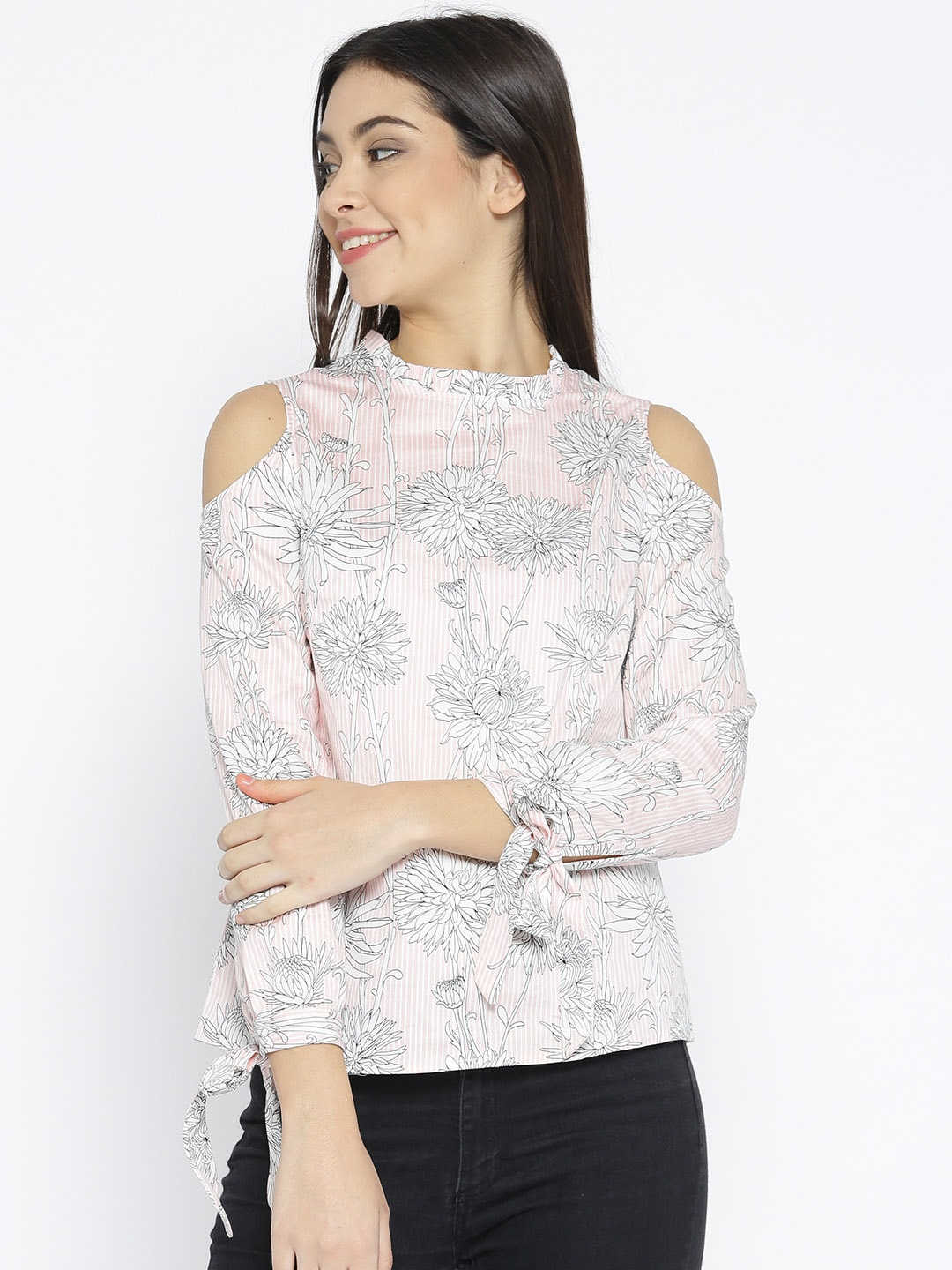 ff19f80c94f Ladies Tops - Buy Tops & T-shirts for Women Online | Myntra
