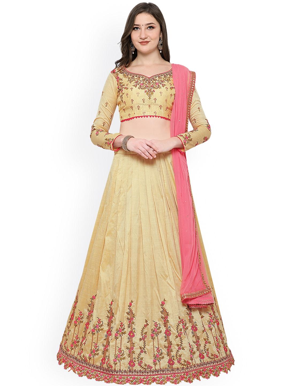 13ab8c866560 Semi Stitched Lehenga Choli - Buy Semi Stitched Lehenga Choli online ...