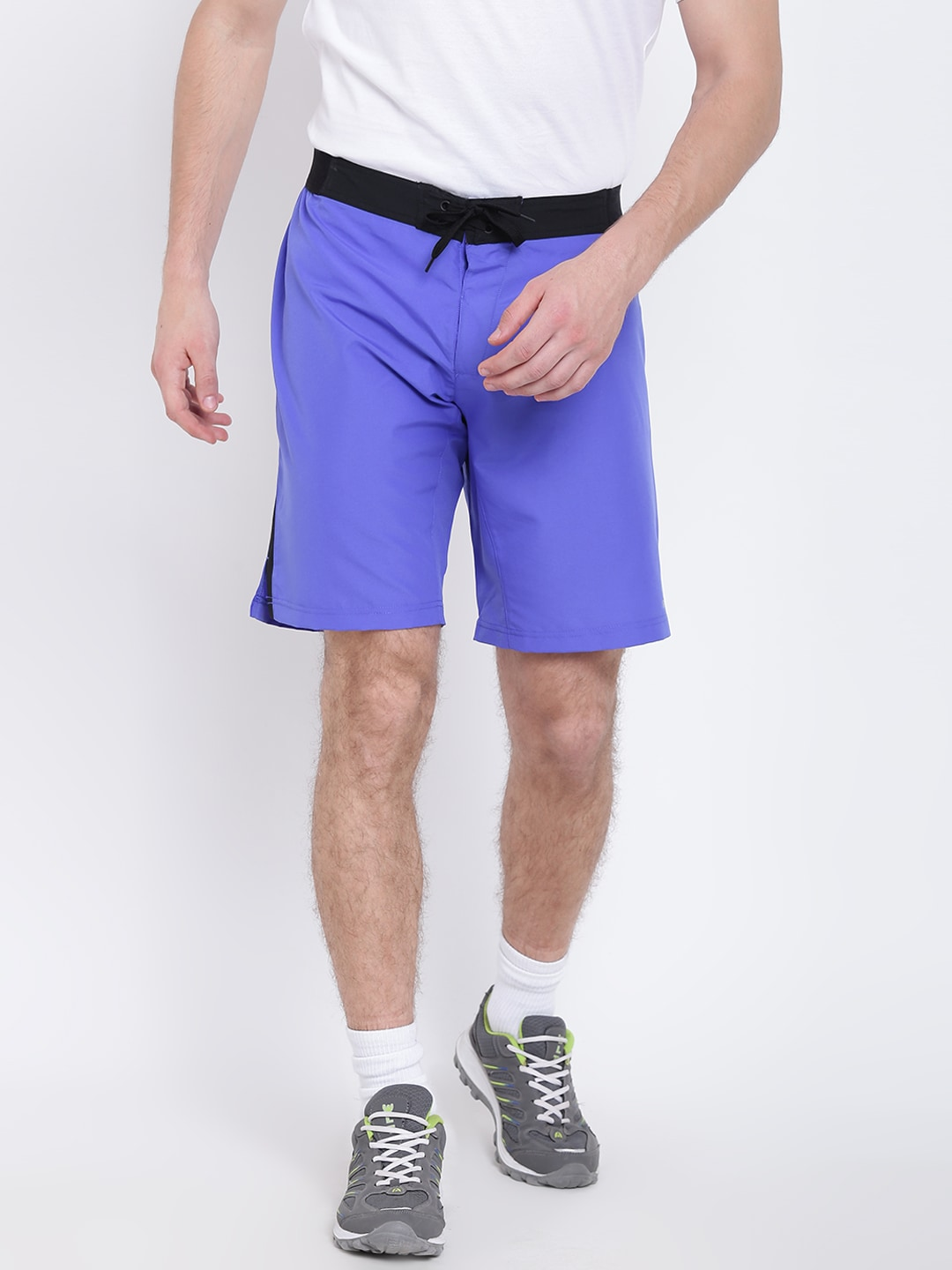 969c00c437 Reebok Men Blue Workout Board Training Shorts