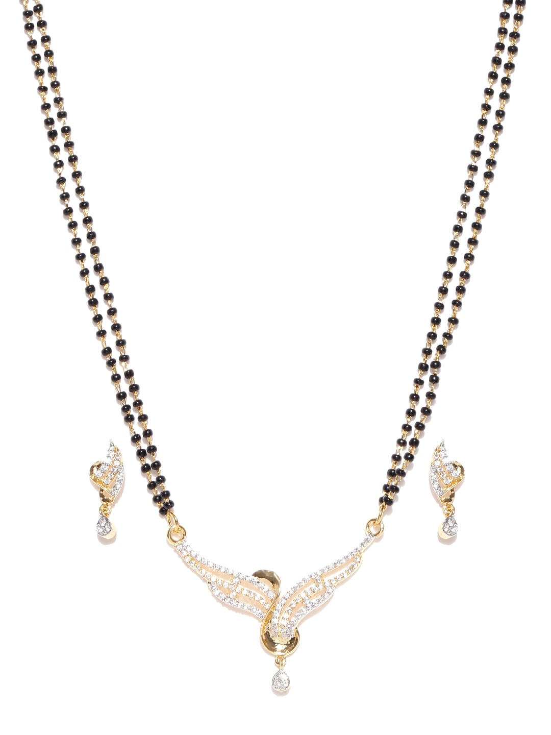f92a134e534a9 Traditional mangalsutra with black beads online