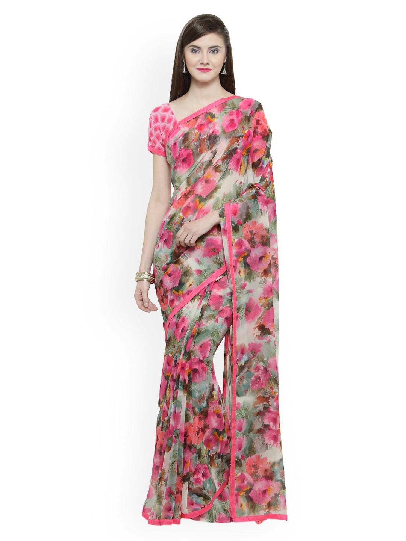 15991650842 Georgette Sarees - Buy Georgette Saree Online in India
