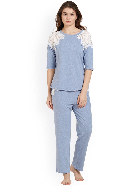 175026beb15434 Soie Neck Loungewear And Nightwear - Buy Soie Neck Loungewear And Nightwear  online in India