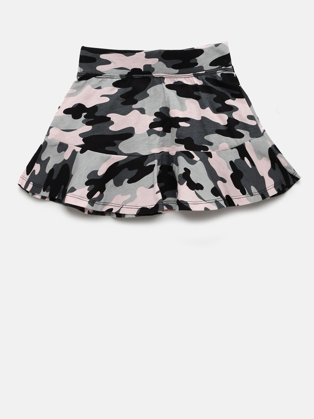 The Childrens Place Girls Solid Skorts